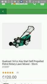 Qualcast 161cc lawn mower key start