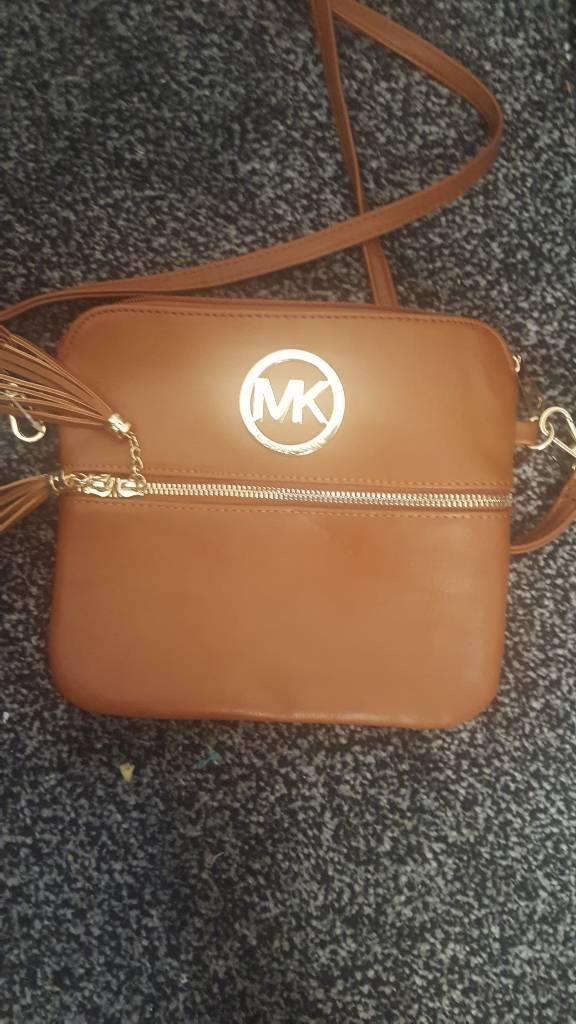 Tan Side Bag Mk