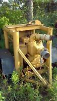 Water Pumps, electric and gas
