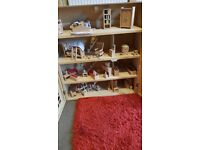 Childs wooden dolls house