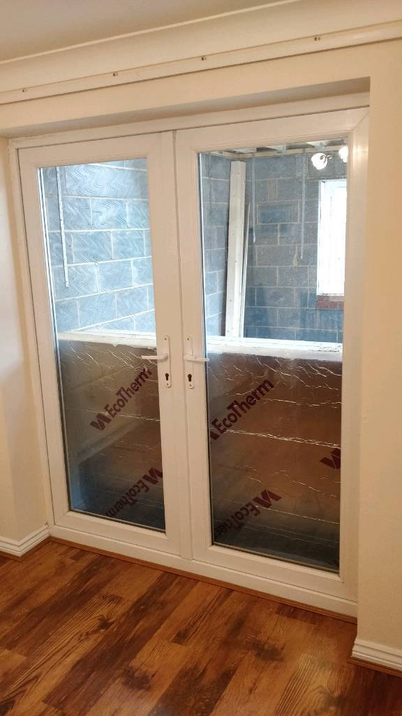 Patio French Doors With Locks Pvc Double Glazed In Coventry West