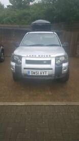 Silver Land Rover2001 plate