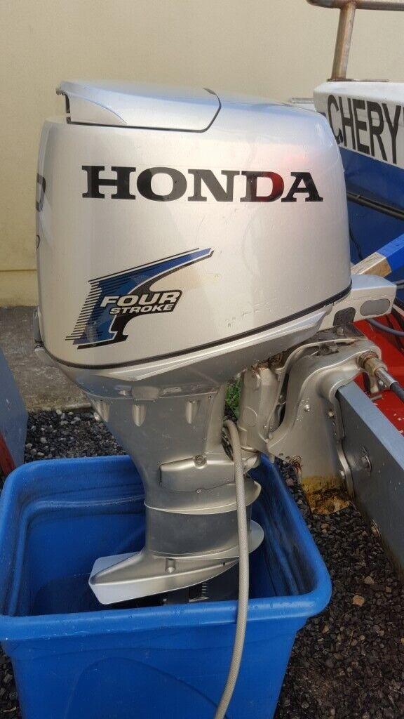 Honda 30hp outboard engine | in Clynderwen, Pembrokeshire | Gumtree