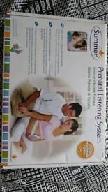 Prenatal listening system for pregnant women