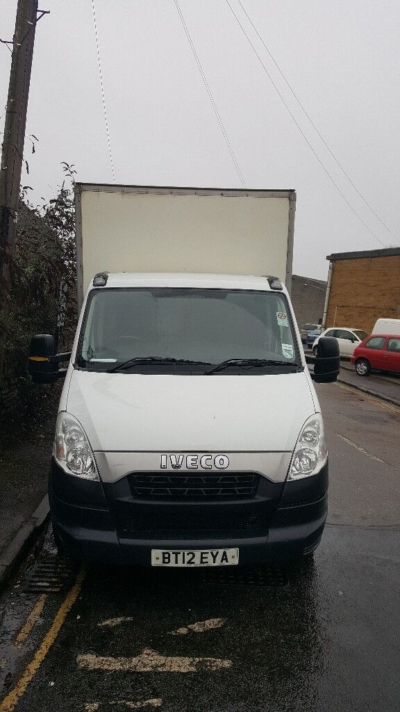 Iveco converted to curtainsider van.
