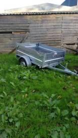 erde tipping 6x4 trailer