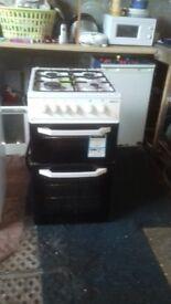 Beko Twin cavity gas cooker