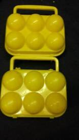 camping egg containers