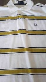 Fred Perry and Hollister polo shirts