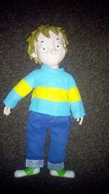 Talking Horrid Henry doll in excellent condition