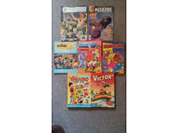 Beano Annual 1998, Victor for Boys 1975, Storybook Based on Film, Judge Dreed Comics No. 1 & 44