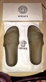Mens Versace Slippers Size 8