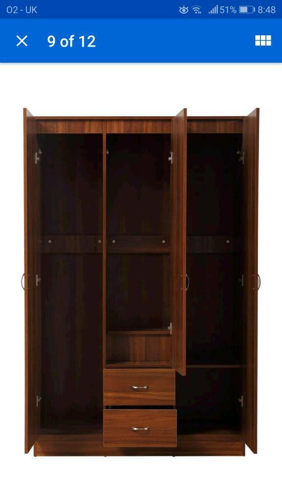 Super Walnut Bedroom Furniture Set In Borrowstounness Falkirk Gumtree Complete Home Design Collection Epsylindsey Bellcom