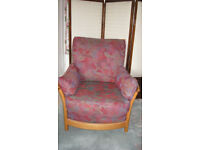 Ercol high back Renaissance armchair