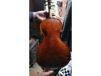 violin English made.