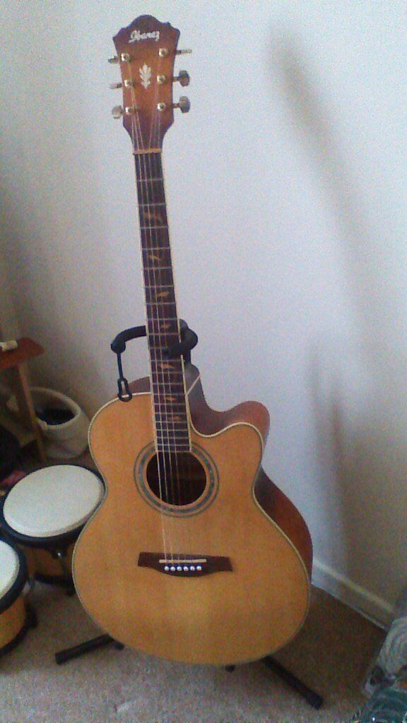 Ibanez electro-accoustic guitar