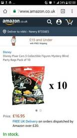 Cars ooshies blind bags