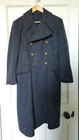 RAF Greatcoat, 1951 original, Small size