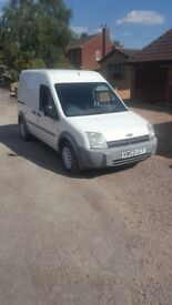 2004 Ford Transit Connect High-Top FULL MOT (twin loading doors model)