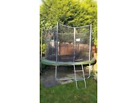 Trampoline 10ft SUPERTRAMP 18mths old excellent condition!