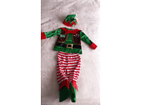 Christmas Little Elf Costume