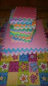 Foam puzzle mat. Playing mats