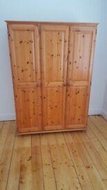 Pine Wooden wardrobe