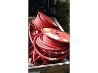 Fire Hose On Reel In Good Condition Ideal Car Wash
