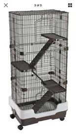 4 storey lazy bone cage