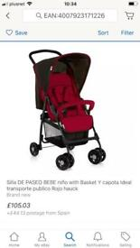 Light weight Pushchairs new boxed