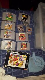 Retro games and consoles for sale - N64, PS1, snes