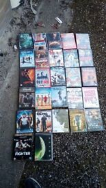 27 DVDs for sale
