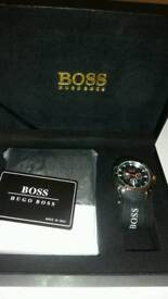 Boss Watch and wallet gift set New