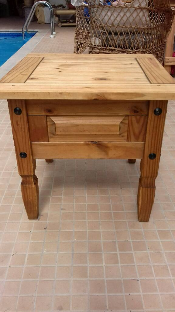Corona mexican pine coffee table in hinckley for Coffee tables gumtree