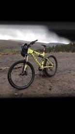 Ghost ASX trail/enduro bike