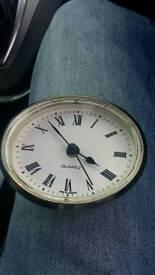 Oval caravan clock
