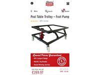Pool table trolley jack, brand new
