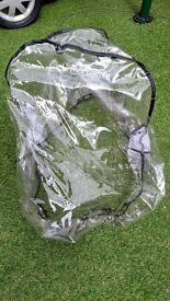Maxi Cosi baby car seat rain cover. EUC