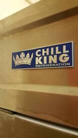 commercial dbl upright freezer