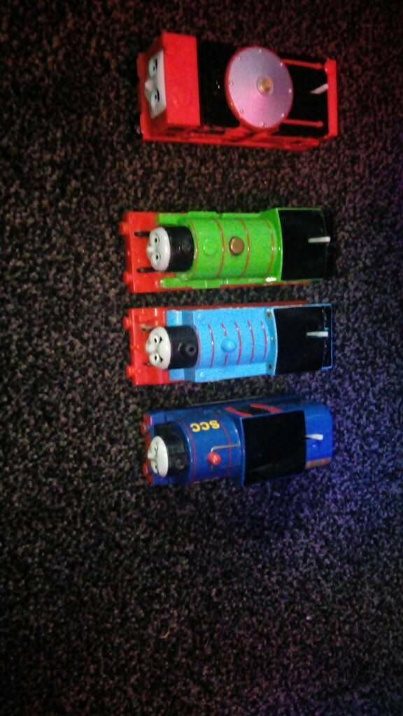 Thomas trackmaster trains all fully working