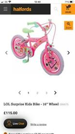Girl Bike, Pink
