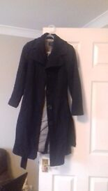 Womens winter coat size 8. Debenhams petite range. Excellent condition