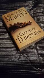 George R.R Martin - A Game of Thrones book