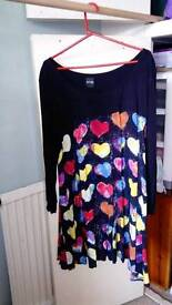 Beth Ditto Swing dress tunic size 30