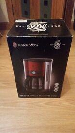 BRAND NEW Russell Hobbs Heritage Coffee Maker