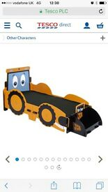 Toddler digger bed