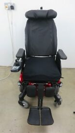 Invacare TDX SP2 NB Narrow Base Electric Wheelchair Seat Tilt Leg Lift Headrest Side Support