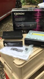 Car radio/cd player/mp3