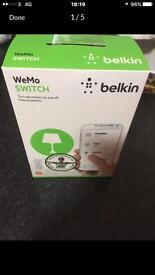 Smart plug belkin wemo