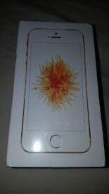 iPhone SE Gold Brand New Sealed. Unlocked. 16GB